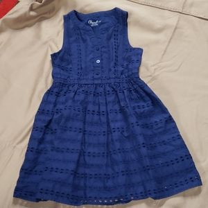 ❤5/$25❤ Girls blue dress